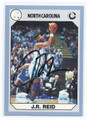 J.R. REID NORTH CAROLINA TAR HEELS AUTOGRAPHED BASKETBALL CARD #72216C