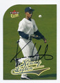 LARRY LOFTON NEW YORK YANKEES AUTOGRAPHED BASEBALL CARD #72316E