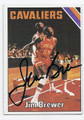 JIM BREWER CLEVELAND CAVALIERS AUTOGRAPHED VINTAGE BASKETBALL CARD #72416A