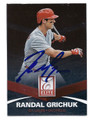 RANDAL GRICHUK ST LOUIS CARDINALS AUTOGRAPHED ROOKIE BASEBALL CARD #72416B