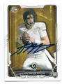 SEAN MANNION ST LOUIS-LOS ANGELES RAMS AUTOGRAPHED ROOKIE FOOTBALL CARD #80716D