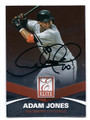ADAM JONES BALTIMORE ORIOLES AUTOGRAPHED BASEBALL CARD #80816B