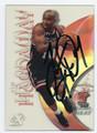 TIM HARDAWAY MIAMI HEAT AUTOGRAPHED BASKETBALL CARD #80916F