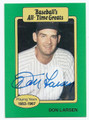 DON LARSEN NEW YORK YANKEES AUTOGRAPHED VINTAGE BASEBALL CARD #81316A