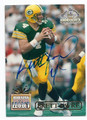 BRETT FAVRE GREEN BAY PACKERS AUTOGRAPHED FOOTBALL CARD #81716A
