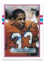 TONY DORSETT DENVER BRONCOS AUTOGRAPHED VINTAGE FOOTBALL CARD #81716D