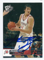 ANDREW BOGUT UNIVERSITY OF UTAH UTES AUTOGRAPHED ROOKIE BASKETBALL CARD #82016A