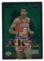 JULIUS ERVING PHILADELPHIA 76ers AUTOGRAPHED BASKETBALL CARD #82316E