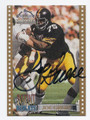 JOE GREENE PITTSBURGH STEELERS AUTOGRAPHED FOOTBALL CARD #82316F