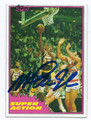 MAGIC JOHNSON LOS ANGELES LAKERS AUTOGRAPHED VINTAGE BASKETBALL CARD #83116B