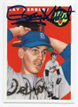 RAY HERBERT DETROIT TIGERS AUTOGRAPHED BASEBALL CARD #90316D