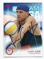 JAKE GIBB US OLYMPIC VOLLEYBALL TEAM AUTOGRAPHED CARD #90416B