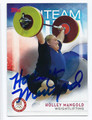 HOLLEY MANGOLD US OLYMPIC WEIGHTLIFTING AUTOGRAPHED CARD #90416D