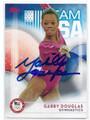 GABBY DOUGLAS US OLYMPIC GYMNASTICS TEAM AUTOGRAPHED CARD #90516C