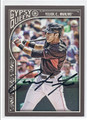 CHRISTIAN YELICH MIAMI MARLINS AUTOGRAPHED BASEBALL CARD #90816E
