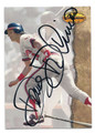 DOUG DeCINCES CALIFORNIA ANGELS AUTOGRAPHED BASEBALL CARD #90916C