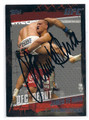 JAMES TE HUNA MIXED MARTIAL ARTIST AUTOGRAPHED CARD #90916D