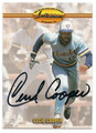 CECIL COOPER MILWAUKEE BREWERS AUTOGRAPHED BASEBALL CARD #91016C