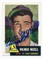WILMER MIZELL ST LOUIS CARDINALS AUTOGRAPHED BASEBALL CARD #92716B