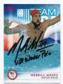 MERRILL MOSES US OLYMPIC WATER POLO TEAM AUTOGRAPHED OLYMPICS CARD #93016F