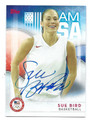 SUE BIRD US OLYMPIC WOMEN'S BASKETBALL AUTOGRAPHED CARD #100616F