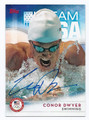CONOR DWYER AUTOGRAPHED OLYMPIC SWIMMING CARD #101116B