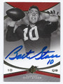 BART STARR ALABAMA CRIMSON TIDE AUTOGRAPHED FOOTBALL CARD #101816B