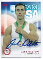 JAKE DALTON US OLYMPIC GYMNASTICS AUTOGRAPHED CARD #101816E