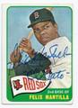 FELIX MANTILLA BOSTON RED SOX AUTOGRAPHED VINTAGE BASEBALL CARD #101916F