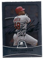 TORII HUNTER LOS ANGELES ANGELS OF ANAHEIM AUTOGRAPHED BASEBALL CARD #102216A