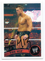 THE MIZ AUTOGRAPHED WRESTLING CARD #102216D