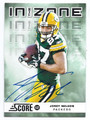 JORDY NELSON GREEN BAY PACKERS AUTOGRAPHED FOOTBALL CARD #102216E