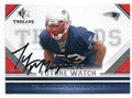 TYRONE McKENZIE NEW ENGLAND PATRIOTS AUTOGRAPHED ROOKIE FOOTBALL CARD #102416E