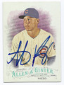 ANTHONY RIZZO CHICAGO CUBS AUTOGRAPHED BASEBALL CARD #103016C