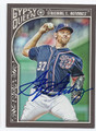STEPHEN STRASBURG WAHINGTON NATIONALS AUTOGRAPHED BASEBALL CARD #110316F