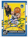 ANDREW BOGUT GOLDEN STATE WARRIORS AUTOGRAPHED BASKETBALL CARD #111016A
