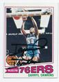 DARRYL DAWKINS PHILADELPHIA 76ers AUTOGRAPHED VINTAGE BASKETBALL CARD #111516B
