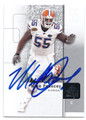 MIKE POUNCEY UNIVERSITY OF FLORIDA GATORS AUTOGRAPHED ROOKIE FOOTBALL CARD #112616C