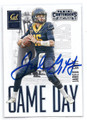 JARED GOFF CALIFORNIA GOLDEN BEARS AUTOGRAPHED ROOKIE FOOTBALL CARD #120316D