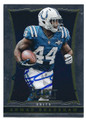 AHMAD BRADSHAW INDIANAPOLIS COLTS AUTOGRAPHED FOOTBALL CARD #120416A