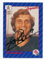 JOE THEISMANN TORONTO ARGONAUTS AUTOGRAPHED FOOTBALL CARD #120416C