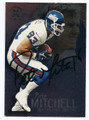 PETE MITCHELL NEW YORK GIANTS AUTOGRAPHED FOOTBALL CARD #120616A