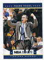 FRANK VOGEL INDIANA PACERS AUTOGRAPHED BASKETBALL CARD #120616G