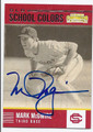 MARK McGWIRE UNIVERSITY OF SOUTHERN CALIFORNIA AUTOGRAPHED BASEBALL CARD #121716B