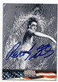ROWDY GAINES OLYMPIC SWIMMING AUTOGRAPHED CARD #122016D
