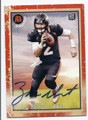 ZAC DYSERT DENVER BRONCOS AUTOGRAPHED ROOKIE FOOTBALL CARD #122116C