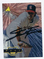 STEVE FREY CALIFORNIA ANGELS AUTOGRAPHED BASEBALL CARD #122316A