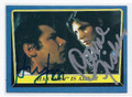 HARRISON FORD & CARRIE FISHER STAR WARS STARS DOUBLE AUTOGRAPHED CARD #122916A
