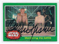 CARRIE FISHER STAR WARS PRINCESS LEIA AUTOGRAPHED CARD #123116D