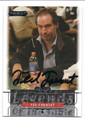 TED FORREST WORLD SERIES OF POKER AUTOGRAPHED POKER CARD #10317D